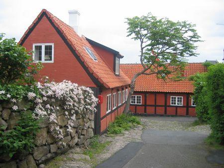 Rote Häuser Bilder unterwegs auf bornholm noch mehr rote häuser